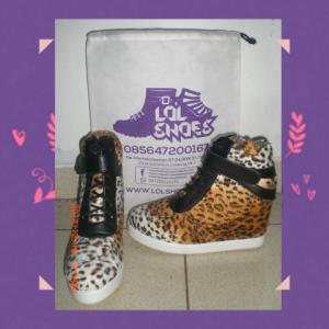 Sneaker Wedges Leopard Tali