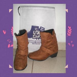 Heels Boots Kerut