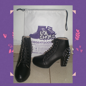 Heels Boots Studed